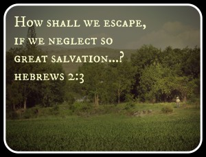 How shall we escape, if we neglect so great salvation?
